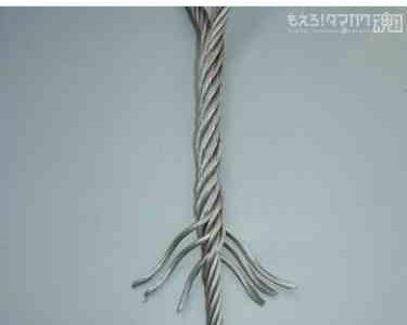 ワイヤロープの錆の影響について